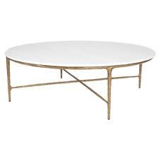 Heston Marble-Top Coffee Table