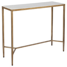 Gold Darcie Console Table