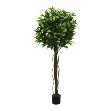 150cm Potted Faux Topiary Plant