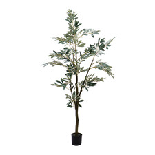 Potted Faux Olive Tree