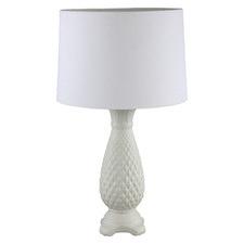 White Keone Ceramic Table Lamp