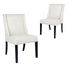 Braydon Linen Dining Chairs (Set of 2)