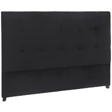 Renee Button Tufted Upholstered Queen Headboard