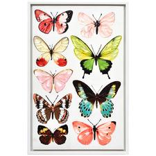 La Farfalla Framed Canvas Wall Art