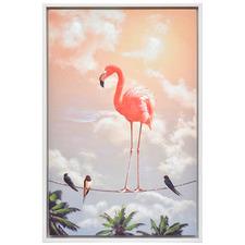 Fancy Freedom Framed Canvas Wall Art