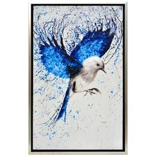 Bird Flight Framed Canvas Wall Art