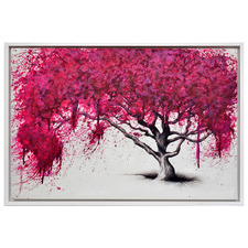 Native Willow Framed Canvas Wall Art
