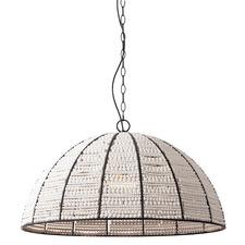Rafaella Beaded Dome Pendant