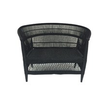 Malawi Woven Reed 2 Seater Chair