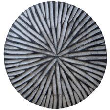 Striped Burst Cameroon Decorative Shield
