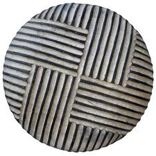 Striped Weave Cameroon Decorative Shield