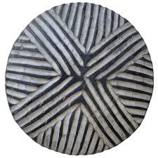 Striped Cross Cameroon Decorative Shield