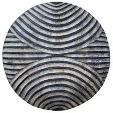 Striped Crescent Cameroon Decorative Shield