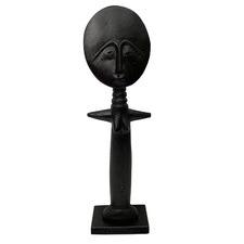Ashanti Jacaranda Wood Statue