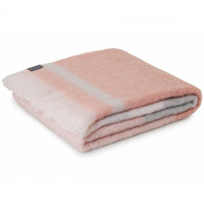 Champagne Mohair Throw