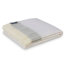 Mineral Mohair Throw