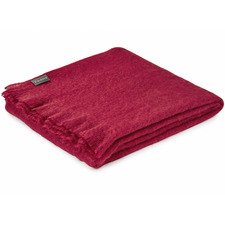 Mulberry Mohair Throw