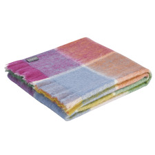 Checkered Lilly Mohair Throw