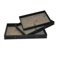 Le Parisien Tray (Set of 3)
