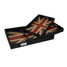 British Flag Tray (Set of 3)