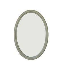 Mirror in Wash White
