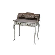 Louis XV Study Desk in Wash White