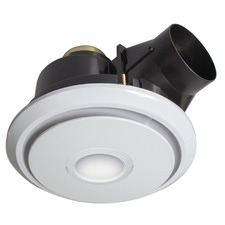 Boreal Round Exhaust Fan with 800lm LED Light