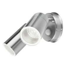 Denver II - 2 Light Round Exterior Spotlight with Sensor