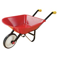 Red Metal Kids' Wheelbarrow