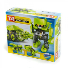 T4 Transforming Toy Solar Robot