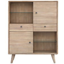 Light Timber Marco Acacia Display Unit