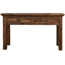 Salena Acacia 2 Drawer Console Table