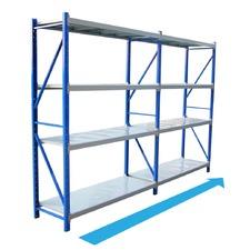 Blue Gauge Steel Shelving