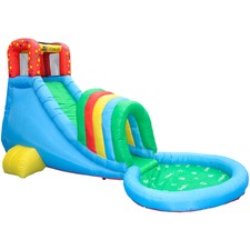 Oasis Inflatable Slide & Splash Pool