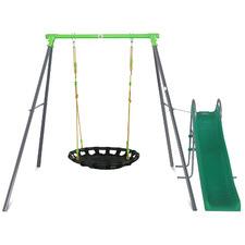 Cellar Web Swing with Slide