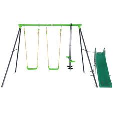 Hurley Metal Swing Frame with Slide