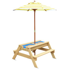 Sunrise Kids' Picnic Table with Umbrella