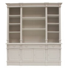French Provincial Estate Bookcase