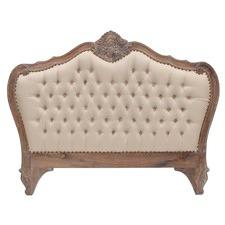 Louis Upholstered Queen Bedhead