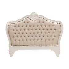 French Provincial Louis Upholstered Headboard