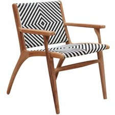 Zahara Teak Outdoor Armchair