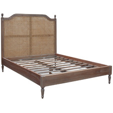 French Provincial Toulouse Rattan Bed