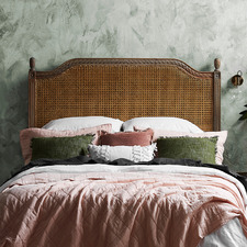 French Provincial Toulouse Rattan Headboard