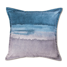 Gradient Horizon Linen-Blend Cushion