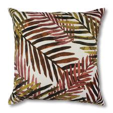 Tropical Gully Linen-Blend Cushion
