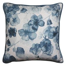 Cherry Blossom Linen-Blend Cushion