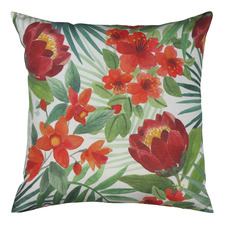 Island Floral Reversible Outdoor Cushion