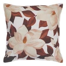 Magnolia Linen-Blend Cushion