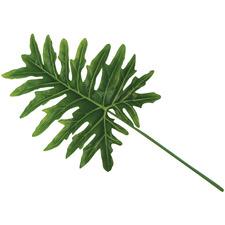 90cm Faux Philodendron Leaf
