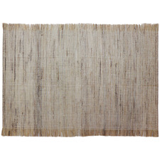 Fringed Linen Placemat